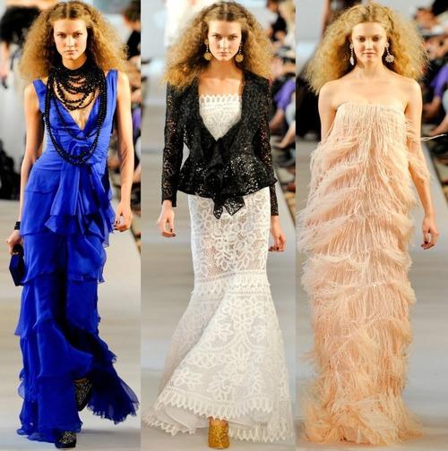 Oscar de la Renta: женственность - тренд весны 2012