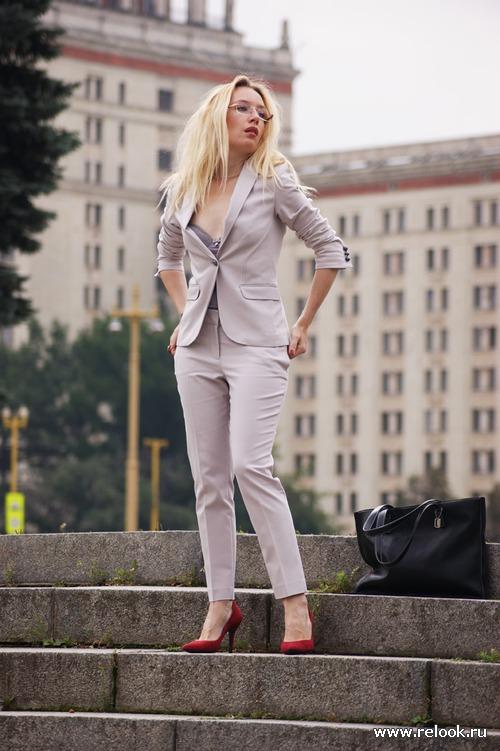 Стильная Офисная Одежда Для Девушек