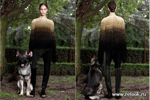 Givenchy Fall 2012 Couture Collection: индейская осень