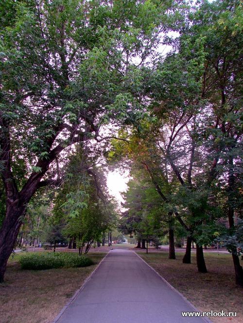 Прогулка на закате дня