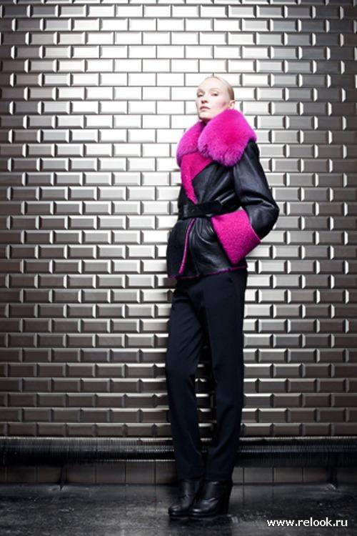 Jean Paul Gaultier pre-fall 2012 - кожа, мех и панк-рок