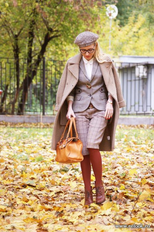 Винтажная мужская мода вдохновляет современных женщин...