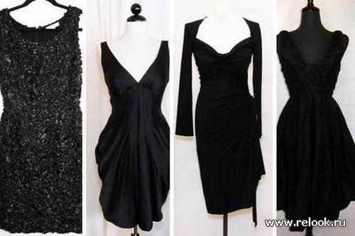 Маленькое черное платье – классика must-have