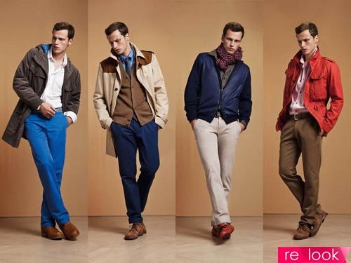 Стиль сильного пола: мужская мода осень-зима 2013