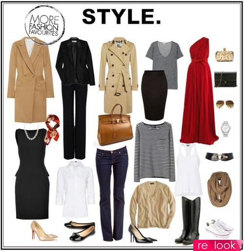 7 модных вещей базового гардероба осени 2013