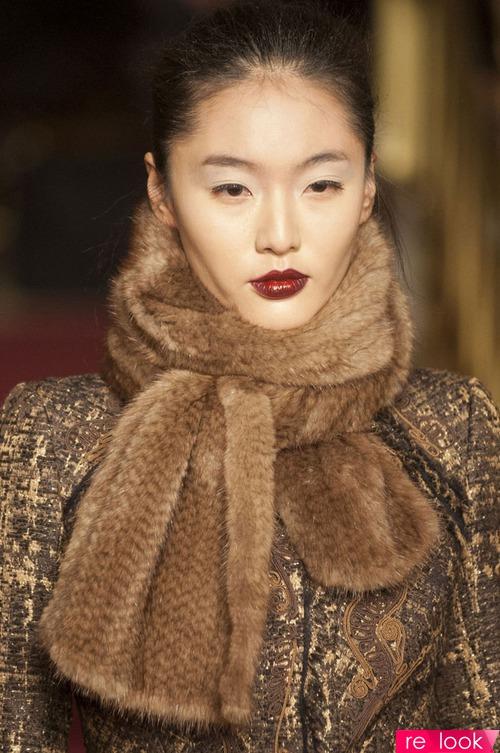 Мода осень-зима 2013-2014: аксессуары из меха