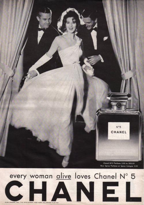 Алхимия Chanel №5: чувственный аромат и прекрасные женщины