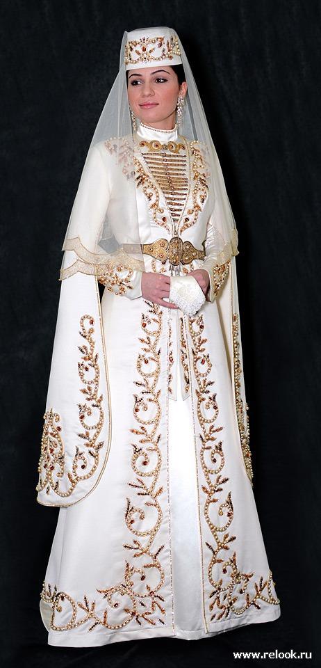 Осетинская свадьба и наряд невесты.: Мода и стиль - мода на Relook.ru