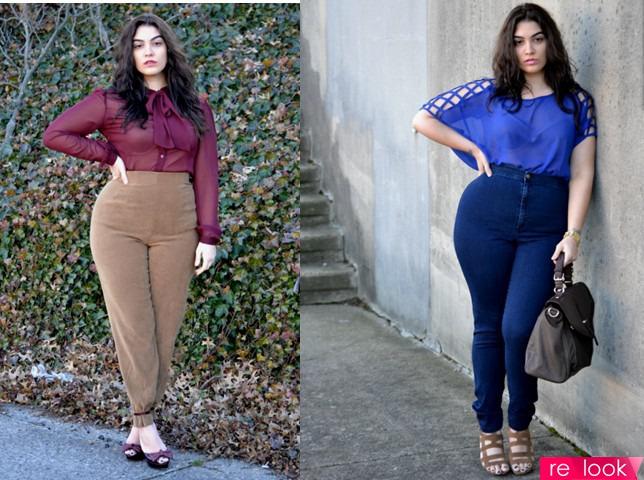 Как одеваться полной молодой женщине