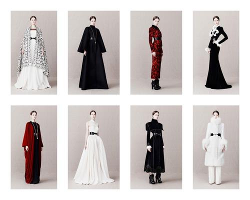 Alexander McQueen Pre-Fall 2013 - рококо и англиканство