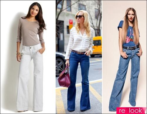 Классика на новый лад: модные джинсы весна-лето 2014