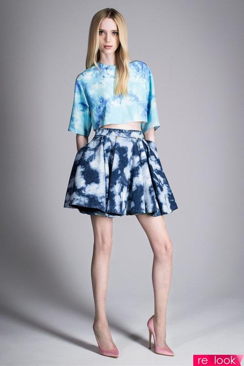 Модный эффект tie-dye