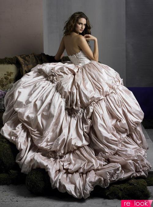 Платья баллон свадебное