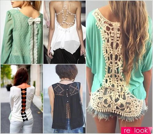 Красота на обороте: способы декора нарядов со спины