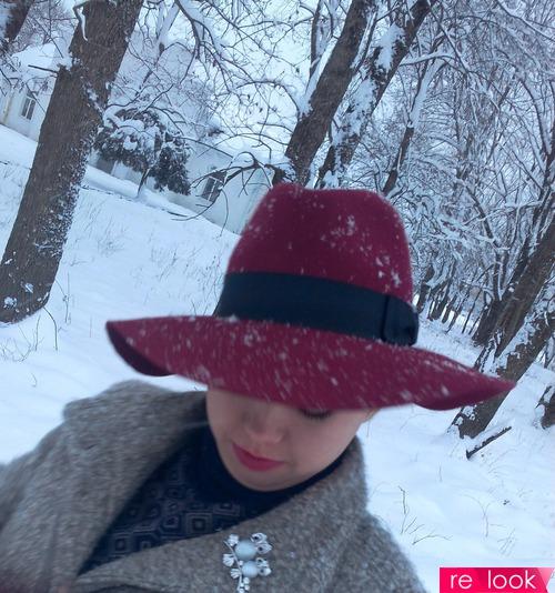 Снег под Новый Год!