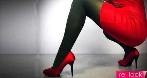 Как носить красные туфли? 6 стильных советов