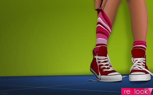 Спорт-шик. Обувь на белой подошве
