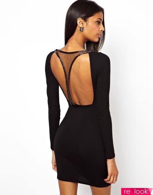 Модный вырез на спине