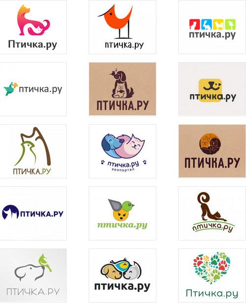 Выбираем логотип для портала Птичка.ру!