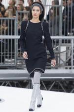Модные трикотажные платья осень-зима 2017-2018