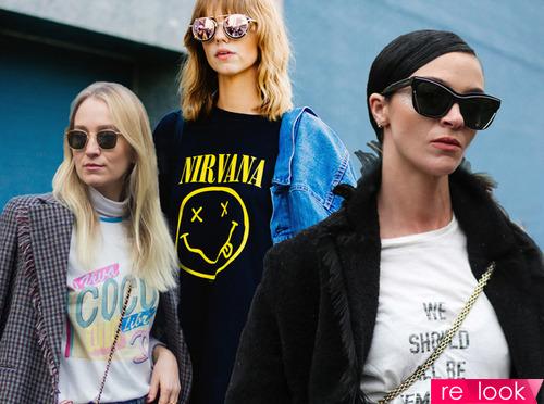 Самые стильные футболки сезона осень 2017
