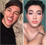 Мужчина, ставший лицом косметической фирмы