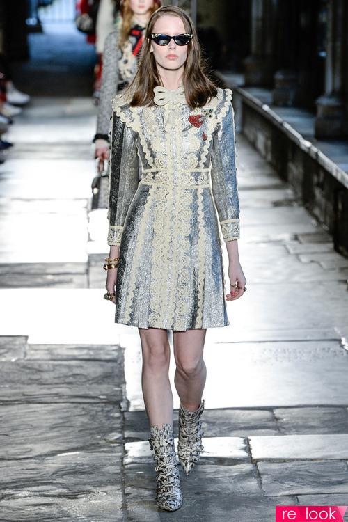 Модные платья от Gucci летом 2017 года