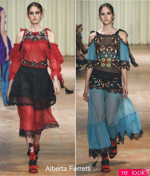 Модные тренды лета 2017: открытые плечи