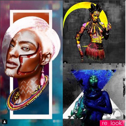 Африканские прически как шедевры парикмахерского искусства