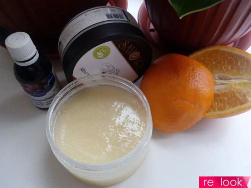 МК: скраб с апельсиновым соком и маслами