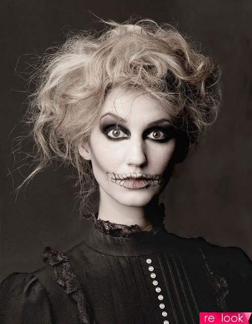 Make-up на Хэллоуин - делаем самостоятельно