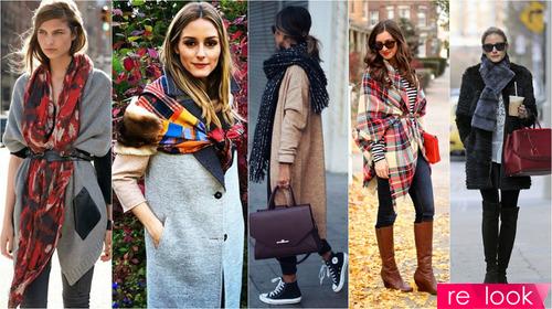 Модные шарфы и платки – сезон осень-зима 2017