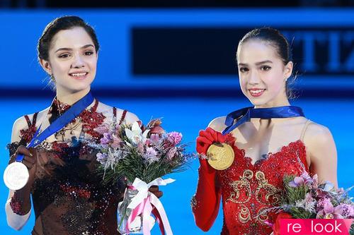 Лёд и пламень - Женя Медведева и Алина Загитова