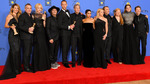 Золотой Глобус 2018: люди в черном, лучшие образы церемонии и любовный голливудский треугольник