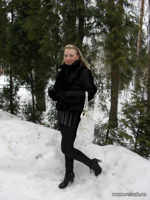 Русская красавица - патриотка