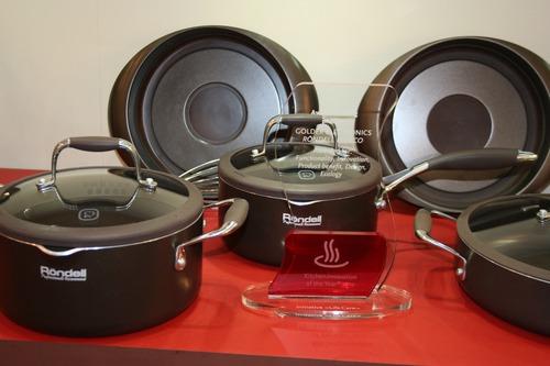 Коллекции посуды Rondell стали победителями международного конкурса промышленного дизайна