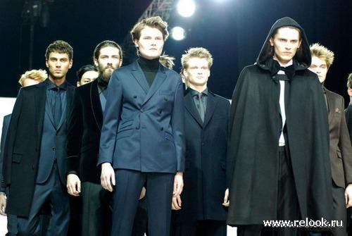 Мужская коллекция Oscar Jacobson на Volvo Fashion week 2012 в Москве