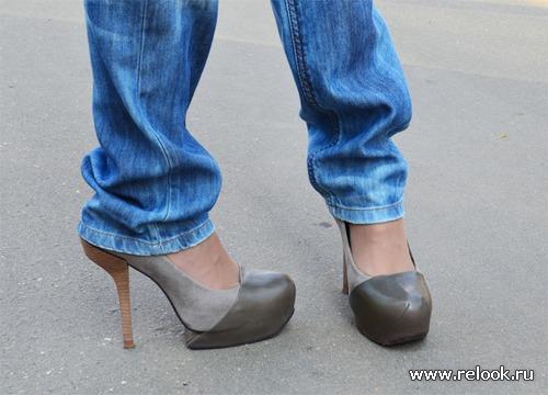 """Необычная обувь или """"быстрый джинсо-лук"""""""