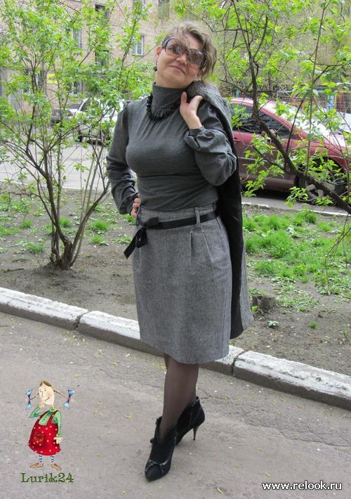 Серый цвет и моя милая Пушистость)))