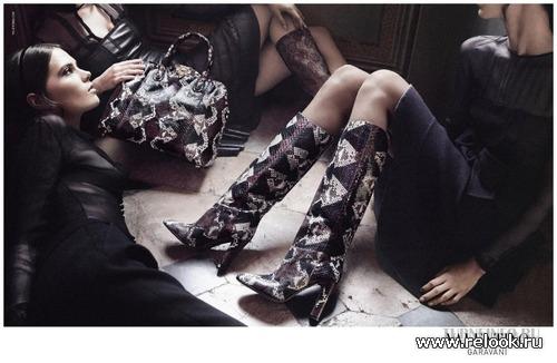 Модная обувь осени 2012