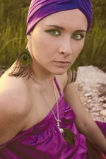 Violet tоtal look: фиолетовая дымка