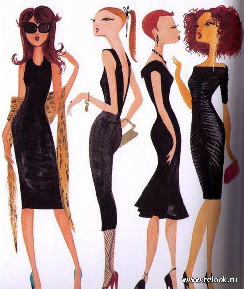 Маленькое черное платье: одна вещь - десятки образов