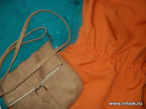 Разные образы с одной сумкой