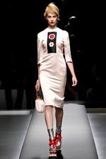 Коллекции.  Prada и Meadham Kirchhoff весна-лето 2013