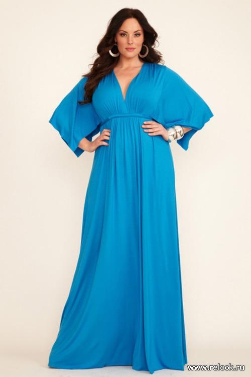 Мода для полных от  Rachel Pally. Весна 2012
