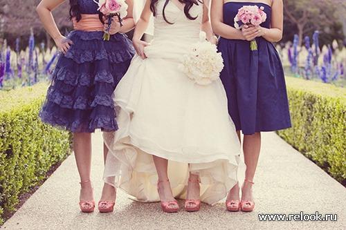Секреты и тренды в образе подружек невесты