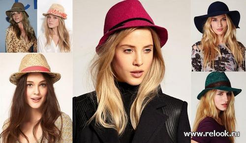 Шляпы: инструкция по применению. Модные шляпы 2012