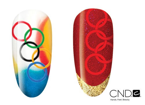 Shellac-дизайн для спортсменов: корпорация CND готова к Олимпиаде-2012!