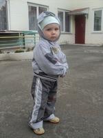 Сашенька - мой самый младшенький!