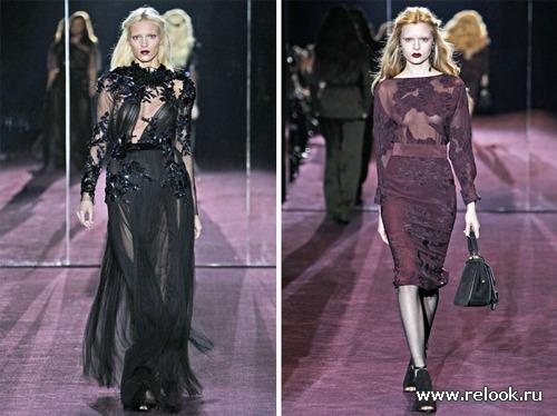 Gucci: осень 2012 будет мягкой